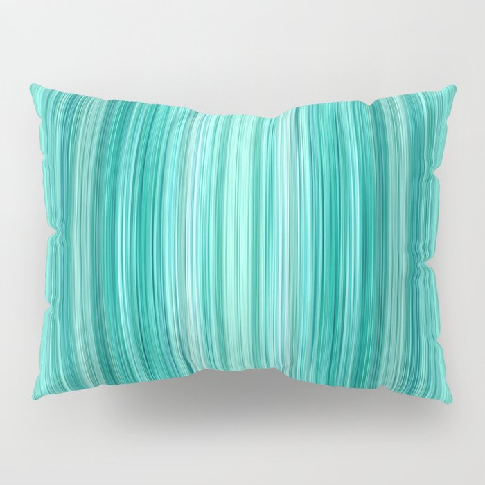 Ambient 5 in Teal Pillow Sham