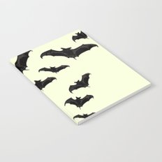 MYRIAD BLACK FLYING BATS DESIGN Notebook