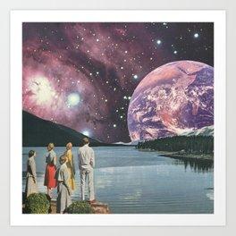 Earthrising Art Print