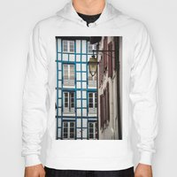 architecture Hoodies featuring Basque architecture by MarioGuti