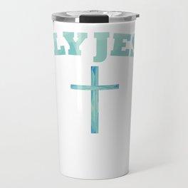 Only Jesus Travel Mug
