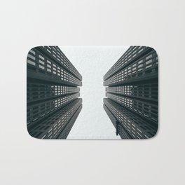 Skyscrapers - Modern City Art Print Bath Mat