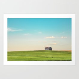 A Country Kind of Life Art Print