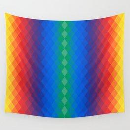 Rainbow rombs Wall Tapestry