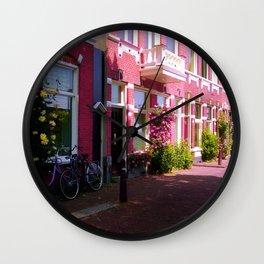 Rose street Wall Clock