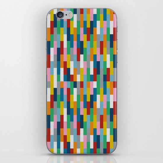 Bricks Rotate #2 iPhone & iPod Skin