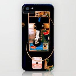 Payphone in Boston iPhone Case