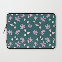 Floral Melody Laptop Sleeve