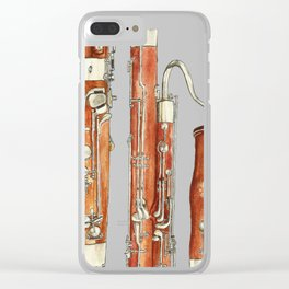 Bassoon Clear iPhone Case