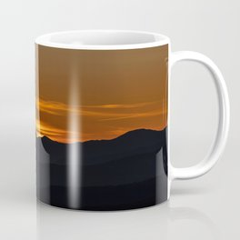 Italian alps orange sunrise Coffee Mug