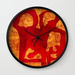 Rock Couple Wall Clock