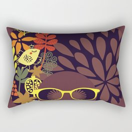 Afro Diva : Sophisticated Lady Deep Rectangular Pillow