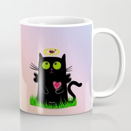 angel cat and ladybug Coffee Mug