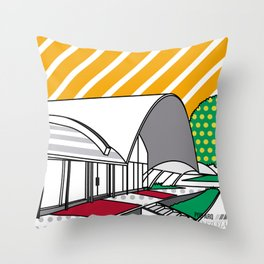 Pop Arq UCV Medicina tropical Throw Pillow