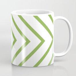 Nested Green Squares Coffee Mug