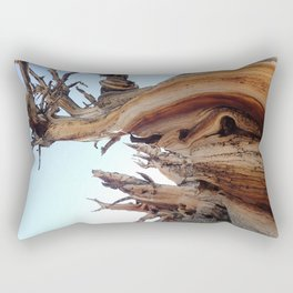 Trees twisting in the wind Rectangular Pillow