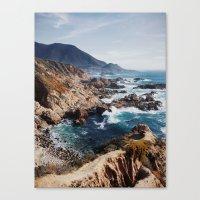 big sur Canvas Prints featuring Big Sur by Dan Grady
