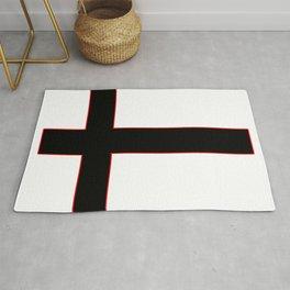 Inverted Cross Rug