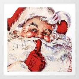 Santa20151101 Art Print