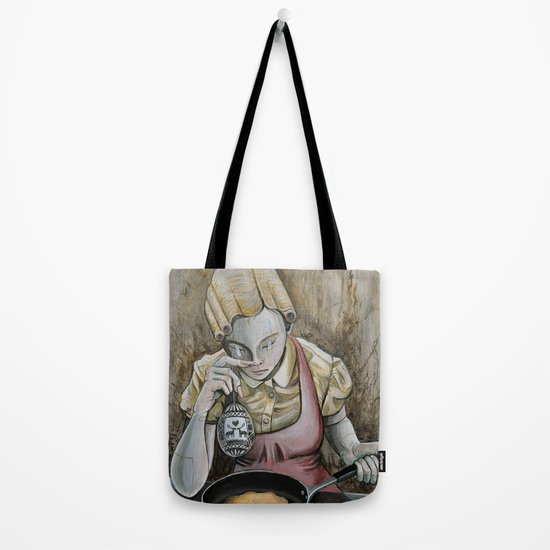 I keep making the same omelette Tote Bag