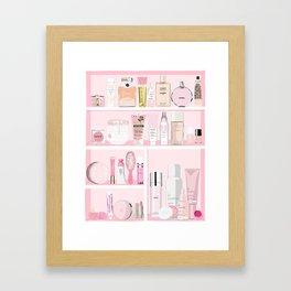 The Pink Medicine Cabinet Framed Art Print