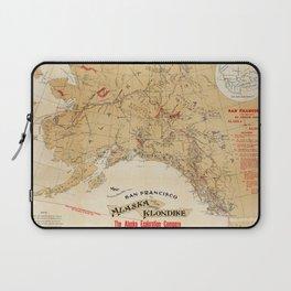 Map of Alaska 1898 Laptop Sleeve