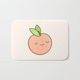 Happy Peach Bath Mat