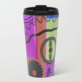 avant-garde still life . artwork Travel Mug
