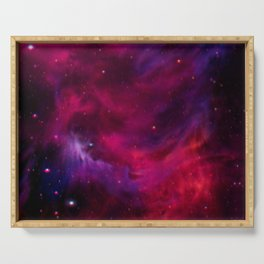 Spirit Nebula I Serving Tray
