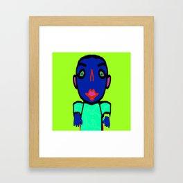Hypno Boy, created by Mickeys Art And Design. Framed Art Print