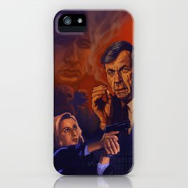 I Want To Believe - Cigarette Smoking Man - Trust No One - The Truth Is Out There iPhone Case