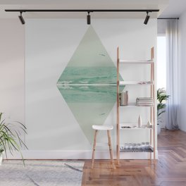 Parallel Waves Wall Mural