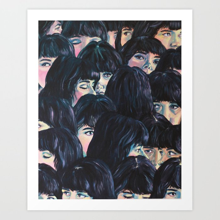 What are you seeing? Art Print