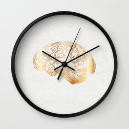 gold matter Wall Clock