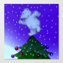 Tree Topper Canvas Print