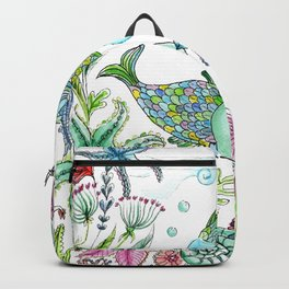 2 fishes Backpack