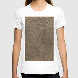 Rustic Tree Bark Pattern T-shirt