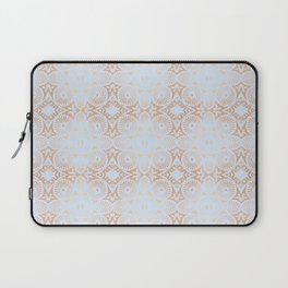 artisan: unbroken chain (in periwinkle & copper) Laptop Sleeve