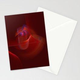 Burning Rose Stationery Cards