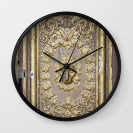 Faded Grandeur Wall Clock