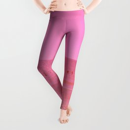 Summer in pink Leggings