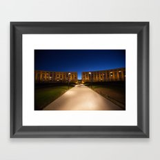 MONTPELLIER Framed Art Print