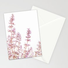 Soft Pink Wild Summer Flowers Stationery Cards