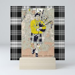 The casual Piper Mini Art Print