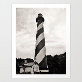St. Augustine Florida Lighthouse Art Print