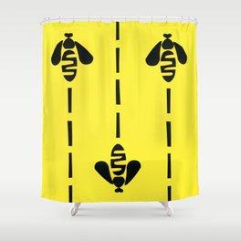 Beeline Shower Curtain