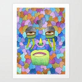 Ultraterrestrial #6 Art Print
