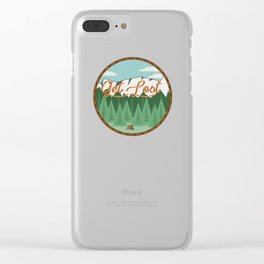 Get Lost Clear iPhone Case