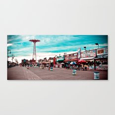 Coney Island The Best Place on Earth! Canvas Print