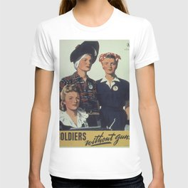 Vintage poster - Soldiers without guns T-shirt